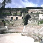 Teano teatro romano b