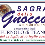 sagra gnocco ai funghi porcini furnolo di teano2016